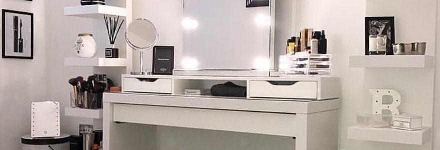 Achat de coiffeuses à miroir en ligne